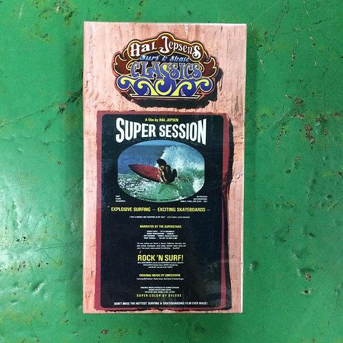 VHS-SUPER SESSION-A film by HAL JEPSEN