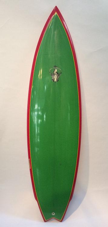 """6'2""""_80's Twin / surfboards by joel tudor"""