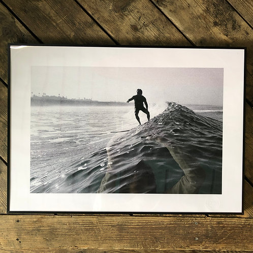 Donald Takayama Surf Photo / Authentic Wave Photo By Tatsuo Takei