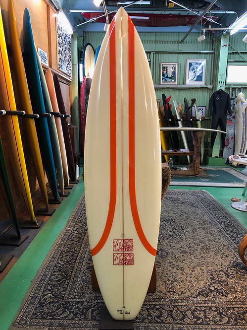"6'2""  80's Tri / Surfboards by Joel Tudor"