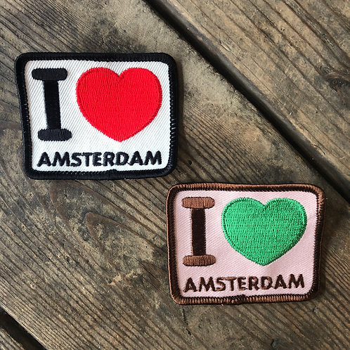 "AMSTERDAM ""I ♡ AMS PATCH"""