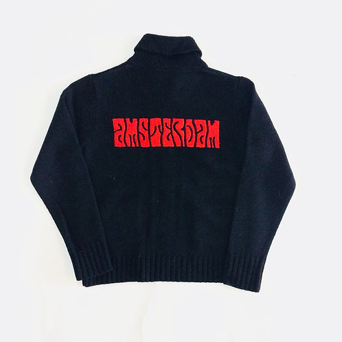 "Amsterdam ""WORD"" Cowichan Sweater"