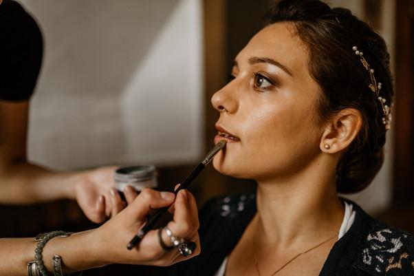 Maquillage mariée mariage maquilleuse pr