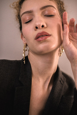 Application de maquillage mise en beauté