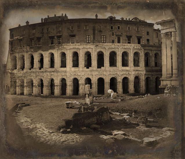 Teatro Marcello - Daguerreotype