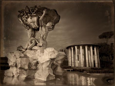 Tempietto d'Ercole vincitore - Daguerreotype