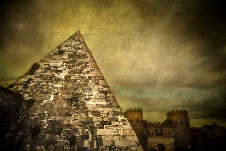 Piramide Cestia - Textures