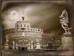 Castel Sant'Angelo, Study I - Daguerreotype