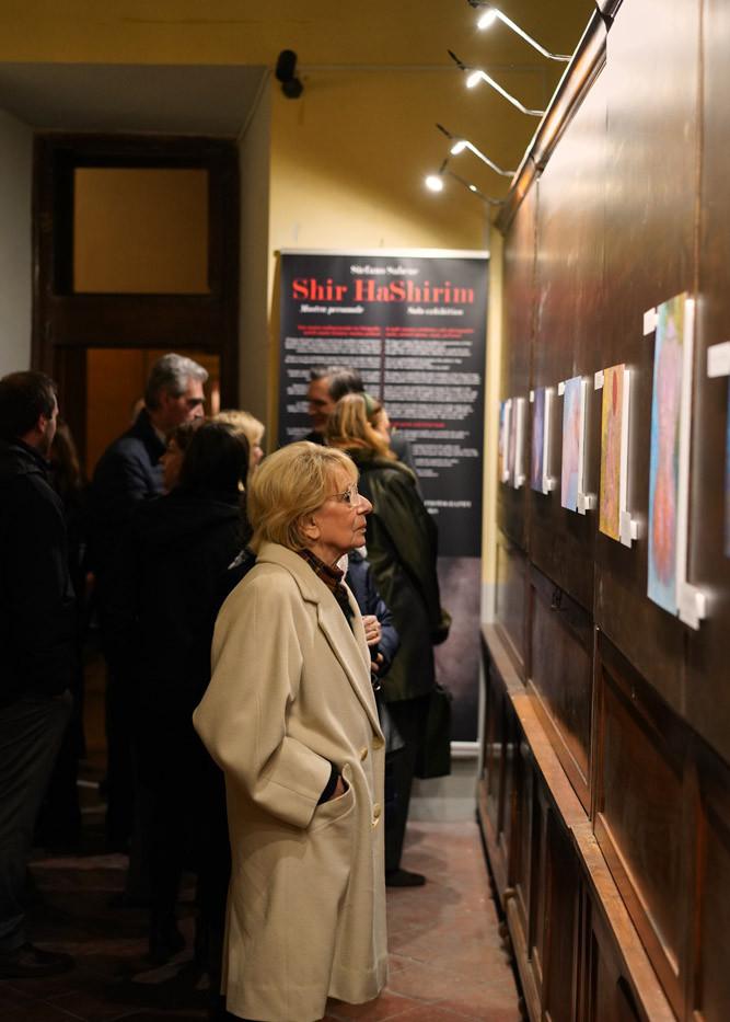 Visita della mostra