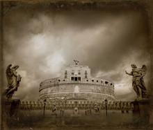 Castel Sant'Angelo - Study II - Daguerre
