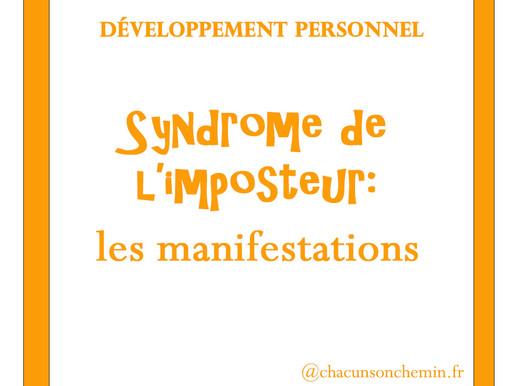 Syndrome de l'imposteur: les manifestations