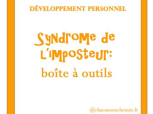 syndrome de l'imposteur: boîte à outils