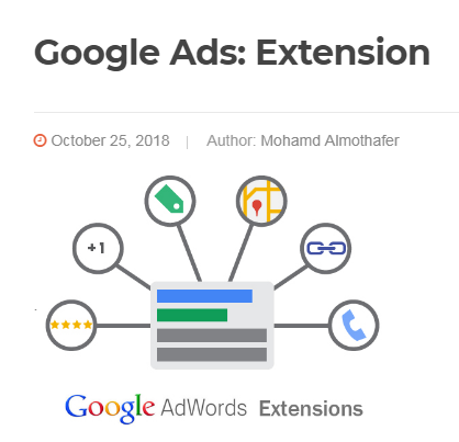 Google Ads: Extension