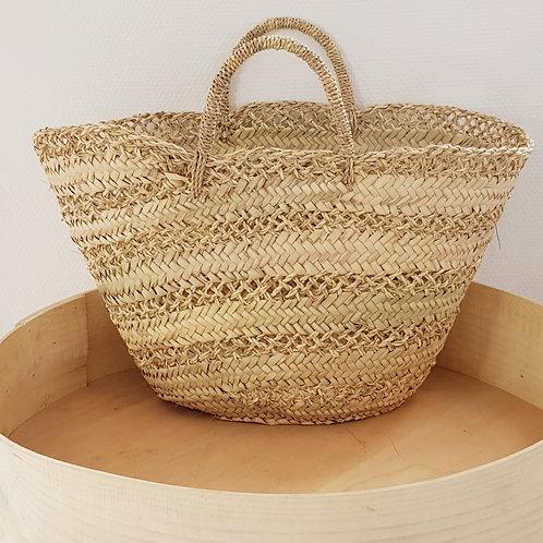 Medium Market Macramé Basket