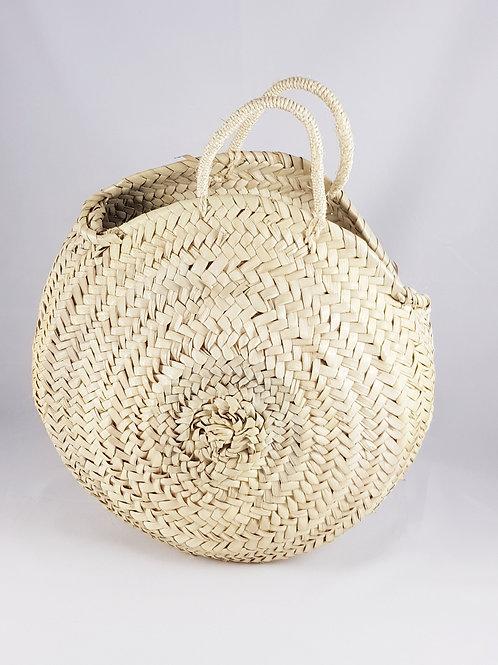 Medium Round Straw Bag