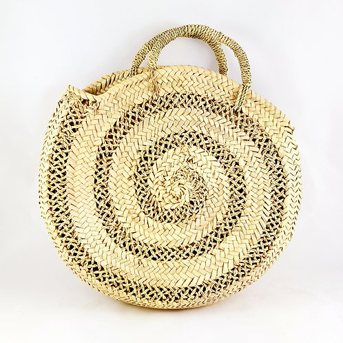 Medium Round Macramé Basket
