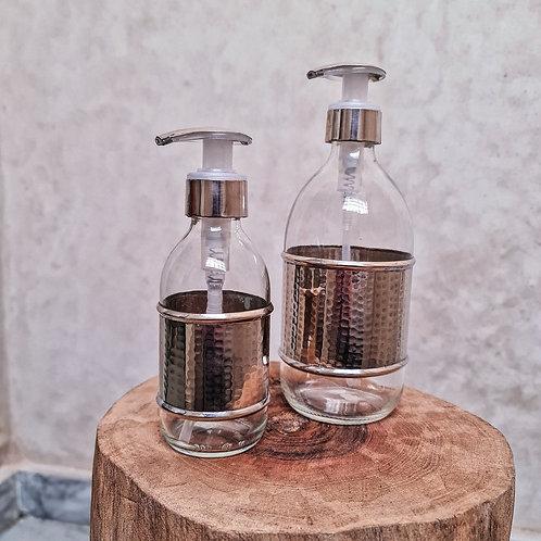 Nickel Silver Soap Dispenser