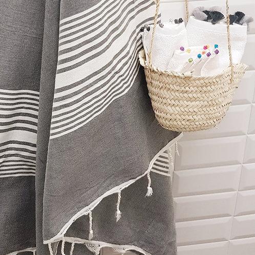 Hamam Towel - Fouta - Grey