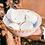 Thumbnail: White Terracotta and Raffia Salad or Fruit Bowl