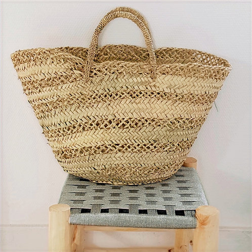 Medium Market Macramé Basket
