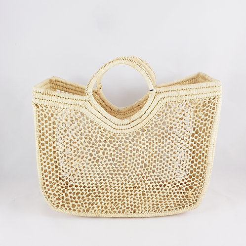 Shoulder Medium  Square Macramé Bag