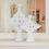 Thumbnail: Large White Tadelakt Candle Holder