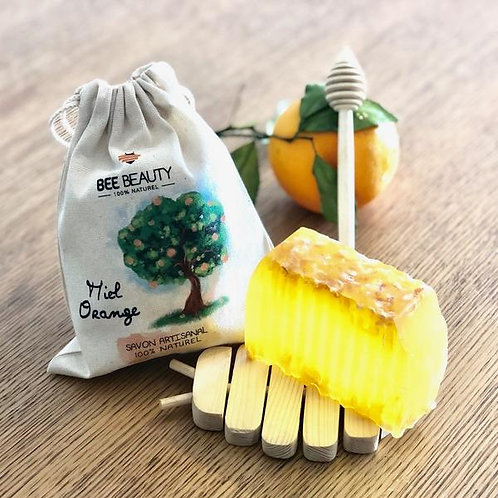 Organic Honey Orange Soap