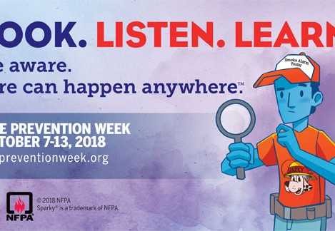 Fire Prevention Week October 7-13