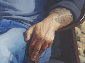 Annabelle and Guy, detail