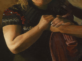 A Levite and his Concubine, detail