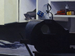 Father's Workshop, detail
