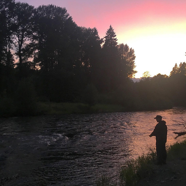 First fly fishing trip