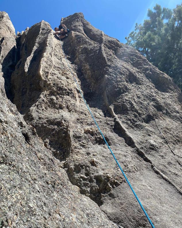 Me at top of crack