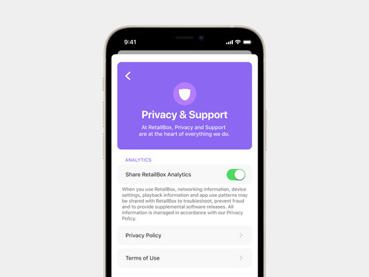 RetailBox introduces new Privacy features