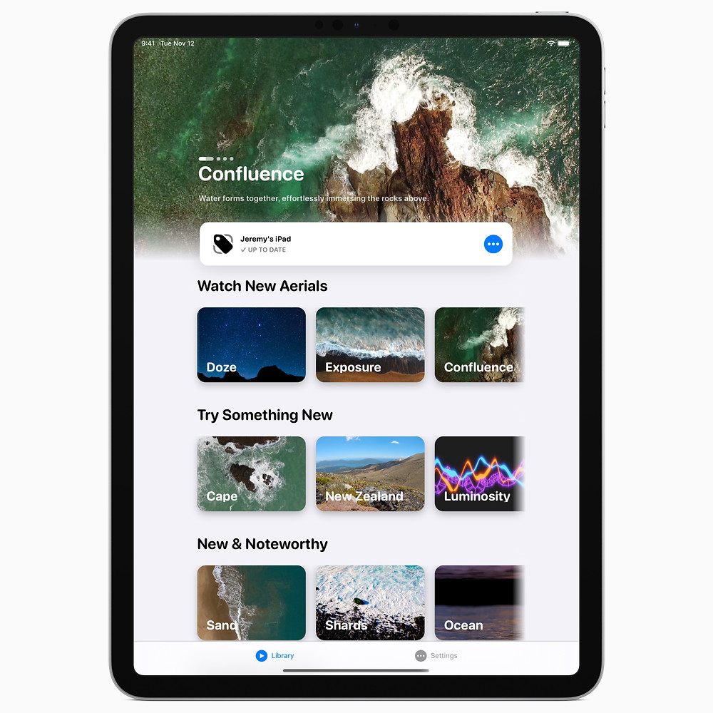 iPad Pro (11-inch) running the all-new RetailBox app.