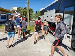 lacrosse team bus
