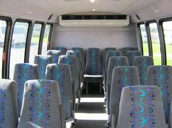Tampa Minibus Interior
