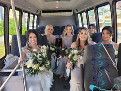 bride minibus