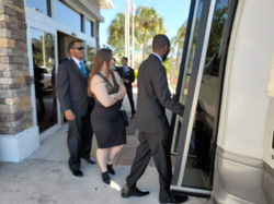 Tampa Hotel Wedding Shuttle
