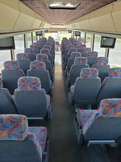 401wedding shuttle interior