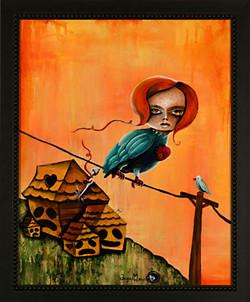 Loose String Bird Girl