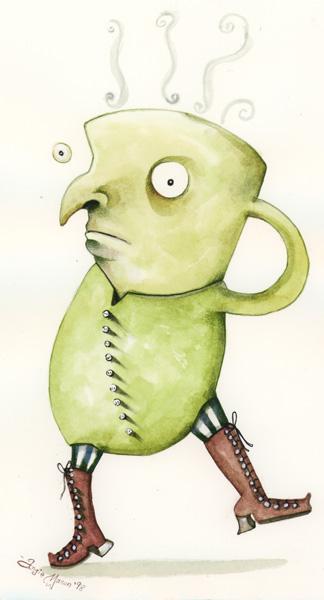 Mr. GreenTea Fancy Pants