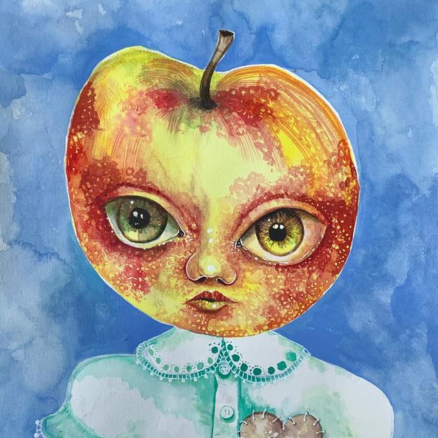 Apple Heart Girl