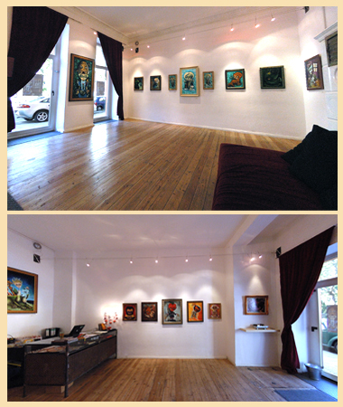 Solo Show - Berlin Germany