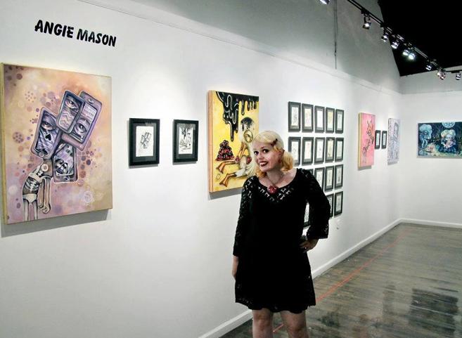 Angie Mason Opening Night