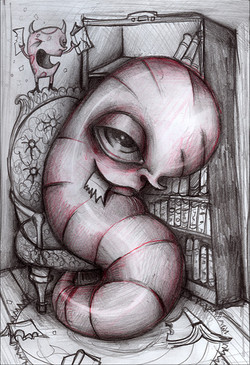 Book Worm (Eat Your Words)