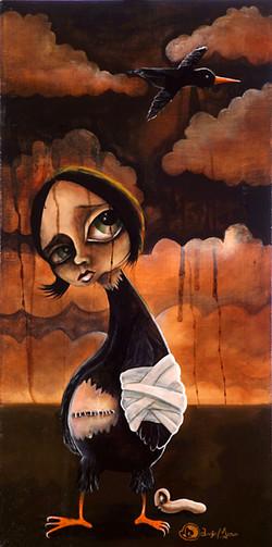 Broken Wing Bird Girl