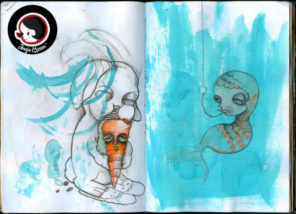 Sketchbook Pages -