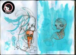 Sketchbook Pages -