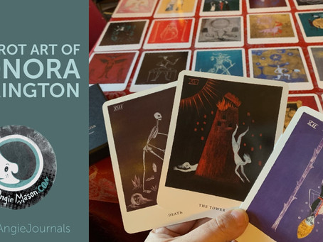 Magical gifts from Leonora Carrington: Tarot Deck & Art Book